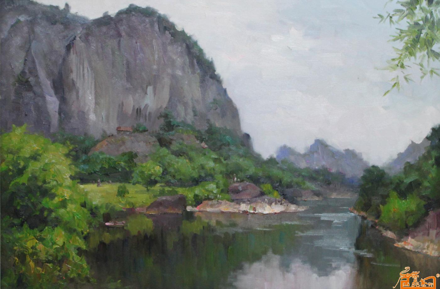 名家 薛金拥 油画 - 作品84风景系列1